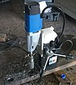 Magnetic base, drill stand and arbour.jpg