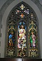 Magnificent stained glass window above the altar at St Mary the Virgin, Datchet - geograph.org.uk - 1167317.jpg