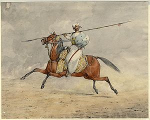 Battles involving the Maratha Empire - Maratha Light Horseman