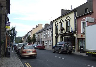 Cappoquin Town in Munster, Ireland