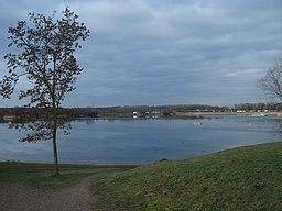 Der Mainparksee bei Mainaschaff