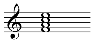 Nondominant seventh chord - Image: Major seventh chord on F