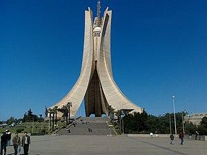 Martyrs' Memorial, Algiers - Image: Makamelchahid