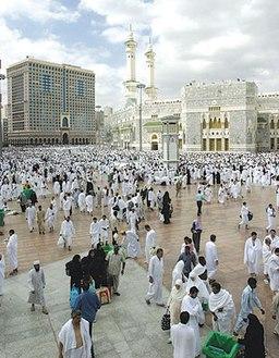 Uden for Masjid el-Synd