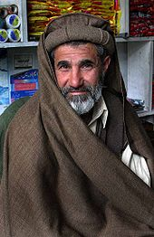 A typical Pathan from northern Pakistan.