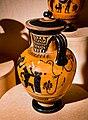 Manner of the Antimenes Painter - ABV 278 31 - gods - Theseus killing the Minotaur - Erlangen AS M 61 - 08.jpg