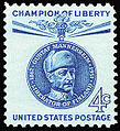 Mannerheim on US stamp, Champion of Liberty.jpg