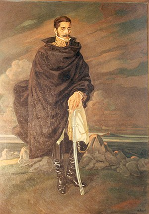 Uruguay - Manuel Oribe, leader of Blancos