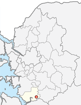 Location of Pyeongtaek