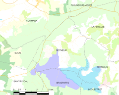 Map commune FR insee code 29013.png