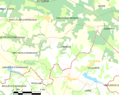 Map commune FR insee code 40140.png