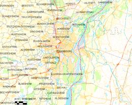 Strasburgo – Mappa