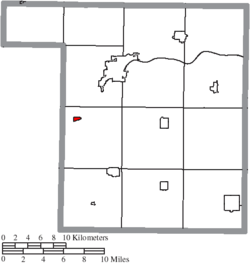 Location of Florida in Henry County