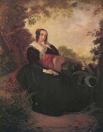 Mariquita Sánchez - Image: María Sánchez de Mendeville