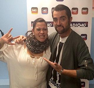 Spanish radio presenter