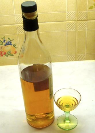 Pomace brandy - Marc de Bourgogne (a type of aged pomace brandy from Burgundy, France)