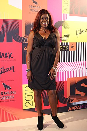 Marcia Hines - Hines at the APRA Music Awards of 2012
