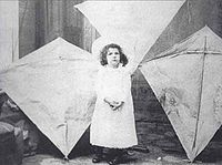 Margaret Eddy with her father's kites.jpg