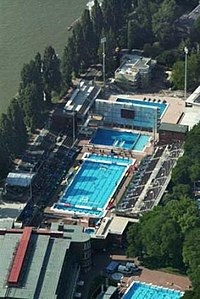 2010 european aquatics championships wikipedia - Margaret island budapest swimming pool ...