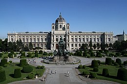 Maria theresien platz kunsthistorisches museum wien 2010