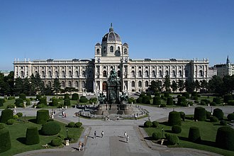 Kunsthistorisches Museum - Image: Maria Theresien Platz Kunsthistorisches Museum Wien 2010