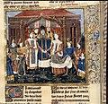 Mariage de Chilpéric Ier et Galsuinthe - Grandes Chroniques de France BNF Fr2610 f31v (detail).jpg