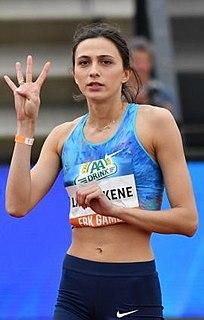 Mariya Lasitskene Russia high jumper
