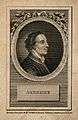 Mark Akenside. Line engraving by Cook, 1782. Wellcome V0000067.jpg
