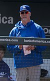 Mark McGwire became the Dodgers new hitting coach for 2013.