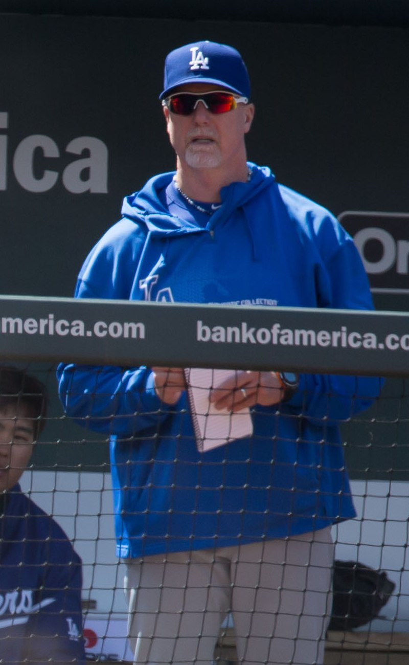 Mark McGwire on April 20, 2013