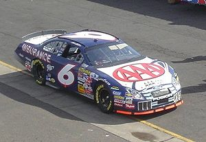 Roush Fenway Racing - Martin in his final season for Roush in 2006.