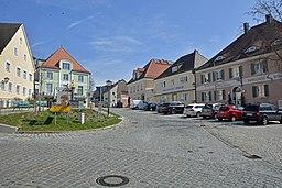 Markt und Rathaus in Altomünster