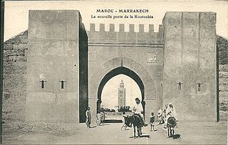 history of the city of Marrakesh in Morrocco