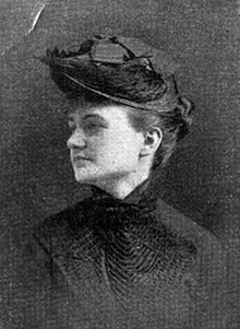 Photograph of author Martha Strudwick Young, ca. 1897.
