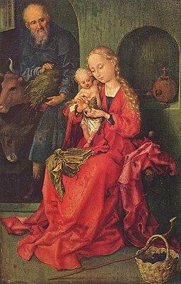 Martin-Schongauer-Świeta-rodzina
