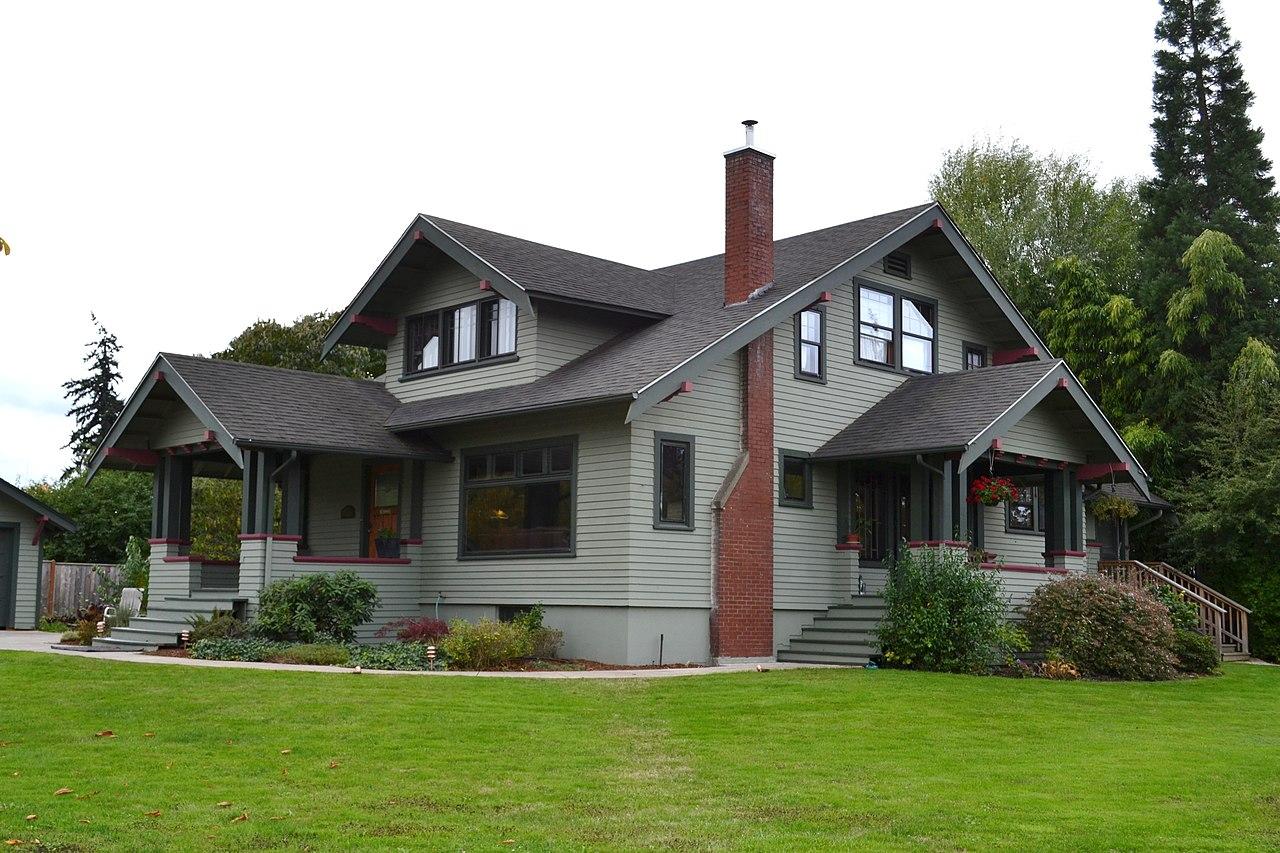 File marx schaefers house eugene oregon jpg wikipedia for Residential architects eugene oregon