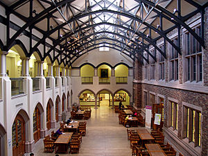 Interior, Mary Gates Hall, University of Washi...