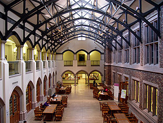University of Washington - Interior of the Mary Gates Hall