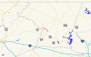Maryland Route 407 - Image: Maryland Route 407 map