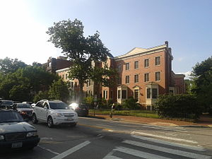 Massachusetts Avenue (Washington, D.C.) - Residential area along Massachusetts Avenue on Capitol Hill.