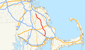 Massachusetts Route 58 - Image: Massachusetts Route 58