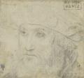 Master of the Brandon Portrait, Portrait of Charles Brandon, 1st Duke of Suffolk, black chalk, Paris, Musée du Louvre, Cabinet du Dessins.png