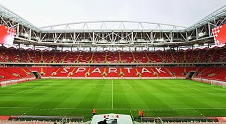 FC Spartak Moscow - View of the Otkrytie Arena.