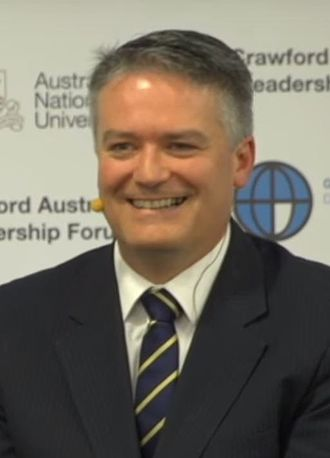 Mathias Cormann - Cormann in 2016