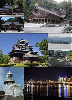Core city in Chūgoku, Japan