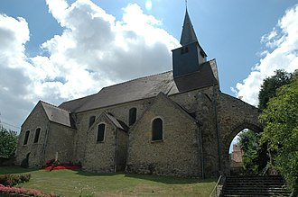 Maurepas, Yvelines - The church of Saint-Sauveur, in Maurepas