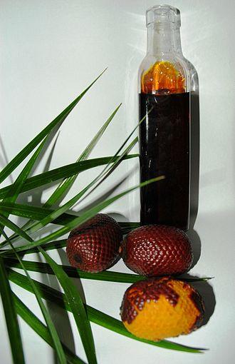 Mauritia flexuosa - M. flexuosa oil