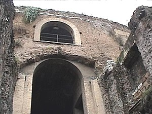 Mausoleum of Augustus - The entryway to the mausoleum of Augustus.