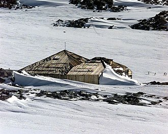 Antarctic Specially Managed Area - Image: Mawsons Hut at Cape Denison
