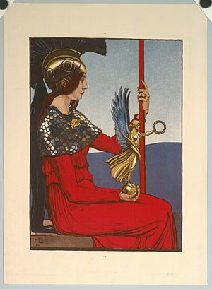 Maximilian Liebenwein - Pallas Athene, 1906
